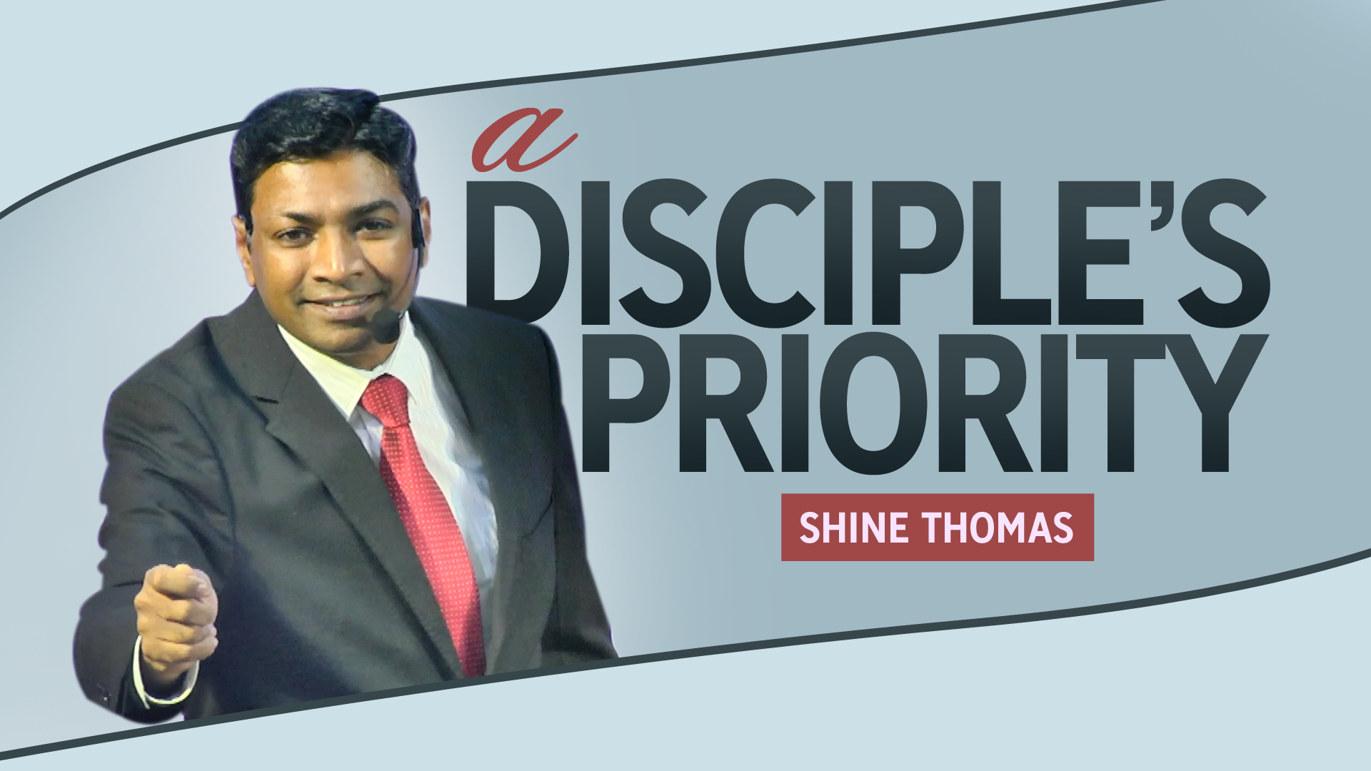 A Disciple's Priority | Luke 10:38-42