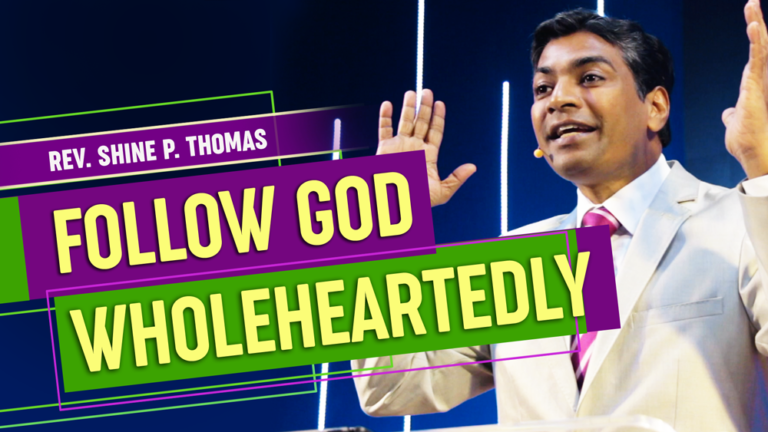 Read more about the article Follow God Wholeheartedly | Life of Caleb