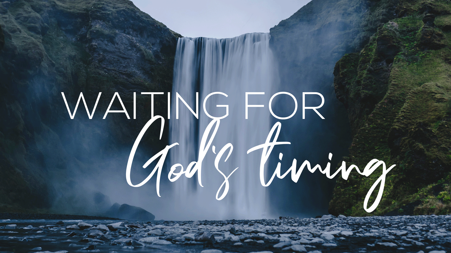 Waiting For God's Timing