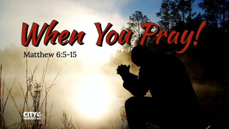 Read more about the article Matthew 6:5-15 | When You Pray!