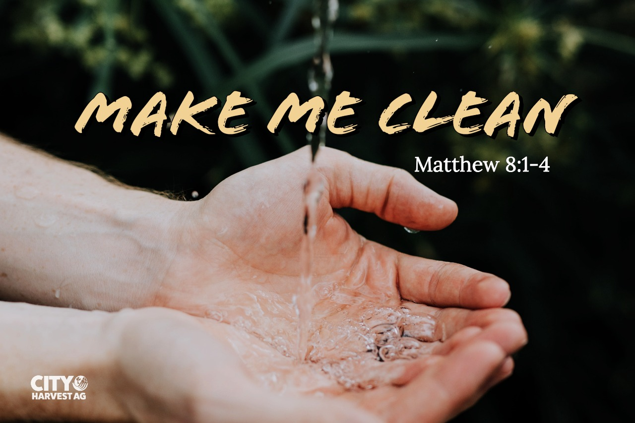 Read more about the article Make Me Clean! | Matthew 8:1-4